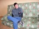 мой любимый диван, на фотке я - так, приложение :-)