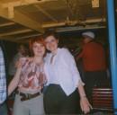Я с лева и моя одногрупница с права 2003г. на корабле