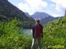 Снова кусочек Абхазии. Озеро Рица...