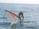 I'm trying to do windsurfing
