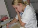 На работе, 2005 год
