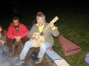 концерт на гитарине (единственный инструмент в мире) Карпаты, поляна возле Шипота