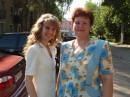 Я с мамулькой на выпускном... Ну, наконец-то дожила до этого дня. :))))