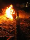 ДР одного хорошего человека. 1 бутылка красного сухого, 4 стакана и 1 костер. Саната-Барбара - та что в Крыму находится.