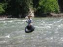 купание в горной реке это просто супер!