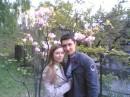 Любимая и я в бад. саде