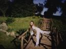 я на мостике в ботаническом саду (2005)