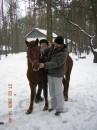 Лошадь по кличке Манюня