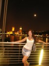 London Bridge at night))