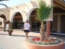 Возле главного входа в отель Paradise Village. На данный момент работаю сразу в двух отелях. Ох и трудноватое лето получается...