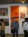 на выставке батика