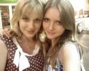 """Это мы с Викулей сегодня после фильма """"спуск"""":))"""