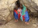 Пещерный человек (встратили в пещере на экскурсии) :-)))