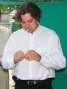 ...но им показалось этого недостаточно !!! ...сложность задачи состояла в том, что я при этом должен был что-то говорить !!! :)))) Херсон (1 июля 2006г.)