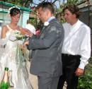 ...после того как и жених ВСЕ выдал под пытками, то невесту нам таки отдали !!! :)))) Херсон (1 июля 2006г.)