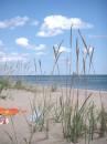 ...вот такой там пляж !!! :)))) Каролино-Бугаз, Одесская обл. (июль 2006г.)