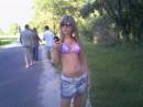 иду с пляжа...)))