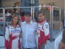 с новой командой F1