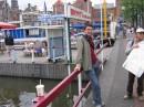 На причале в Амстердаме