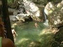 Водопад серебрянная струя....там кста было 7 градусов