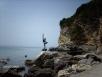 Дорога к пляжу Magren in Montenegro