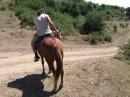 это тоже я хорошо кататся на Лошади