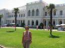 Я и Ливаддийский дворец (дача Романовых)...