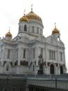 Собор Христа Спасителя. Как я понял его недавно построили как в Киеве Михайловский