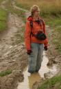 в грязюки :)