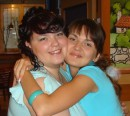 Я и моя подружечка Сашенька