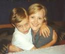 Я со своей тетей... 2000 год.