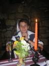 Такой вот типа невинный я сижу в ресторане в Карпатах, эх, хороший тогда был отдих:О)