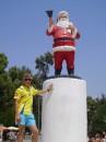...Santa летом!!!