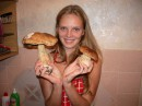 обожаю собирать грибы,особенно белые