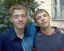 my friend Andrey and I))