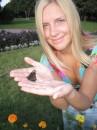 вот такие бывают ручные бабочки)))