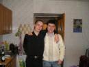 С другом Денькой
