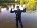 после подводной охоты