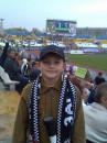 мой сын, мы очень любим футбол