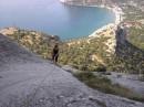 А так мы гуляем по скалам :)))))